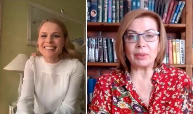 Ольга Фреймут, скриншот с видео