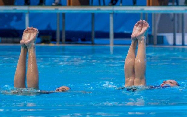 Украинки завоевали серебро на чемпионате Европы по синхронному плаванию