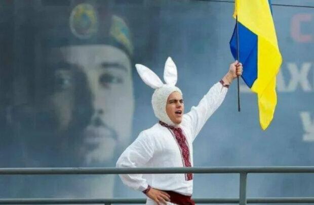 Кролик з прапором, скріншот