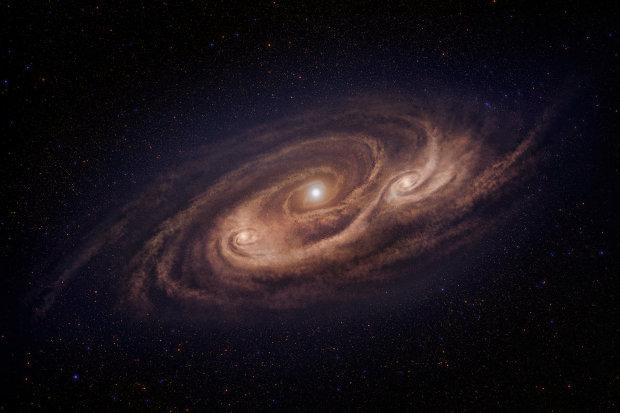 На околицях Чумацького Шляху астрономи випадково помітили нову зоряну систему: фото