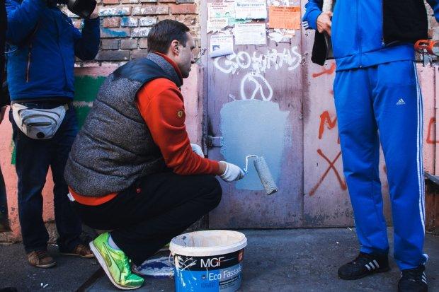 """""""Наркотики для слабаков"""": в Киеве студенты прогуляли пары, чтобы избавиться от рекламы спайса"""
