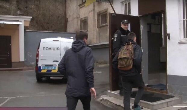 підлітки в поліції, скріншот з відео
