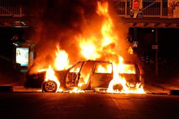Жуткое ДТП: украинец попал в огненную ловушку, вспыхнул как спичка