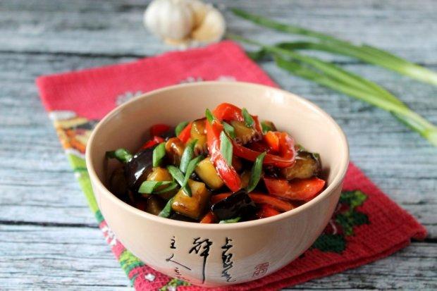 Пикантный рецепт курицы с баклажанами по‑китайски