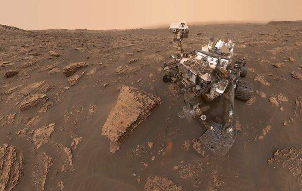 Поверхность Марса, фото AP