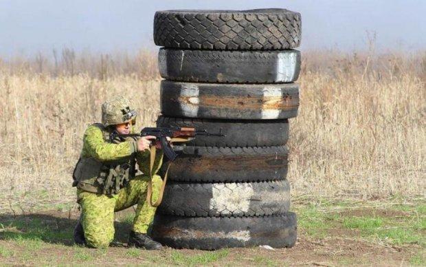 Уникальные кадры: украинский снайпер показал последние секунды жизни боевика