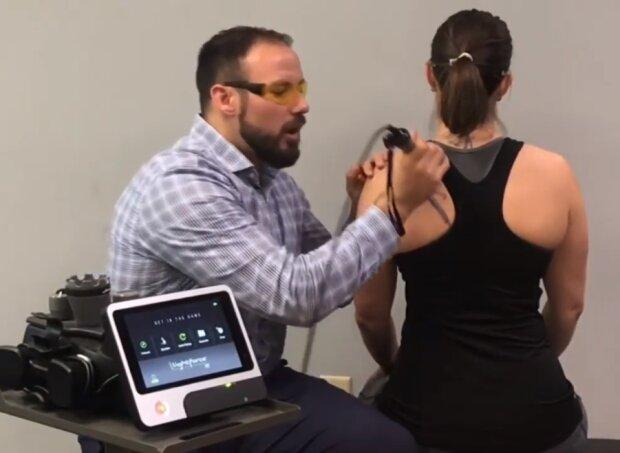 Більу м'язах (міалгія), скріншот відео