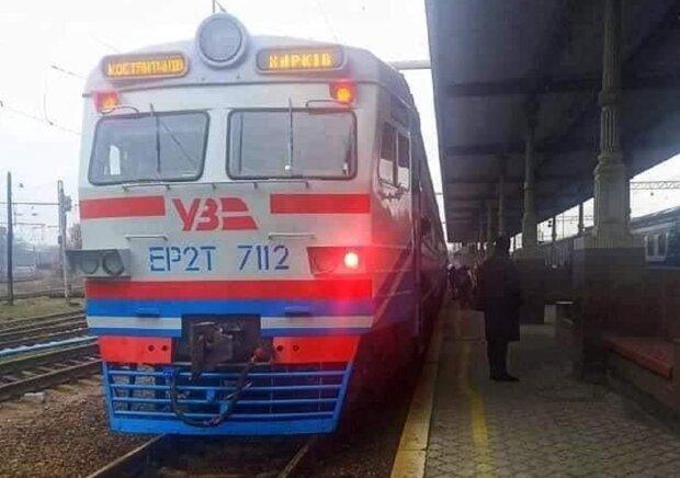 Поїзд, фото: Facebook Укрзалізниця