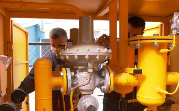 Доставка газа, кадр из видео