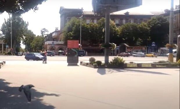 В Запорожье повесили шпиона Сталина
