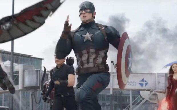 Капитан Америка, Скрин, видео YouTube
