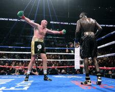 Первый бой Фьюри - Уайлдер завершился ничьей, Getty Images