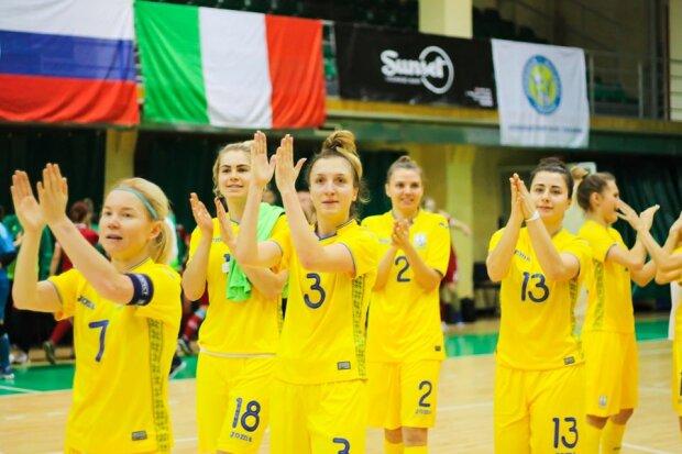 Женская сборная Украины по футзалу, пресс-служба УАФ