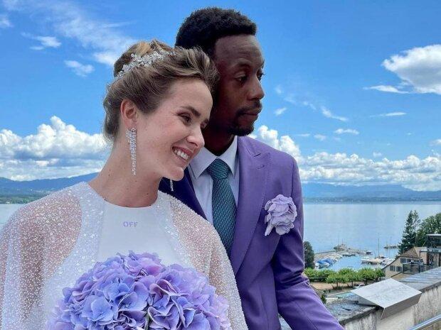 Еліна Світоліна з чоловіком, фото з Instagram