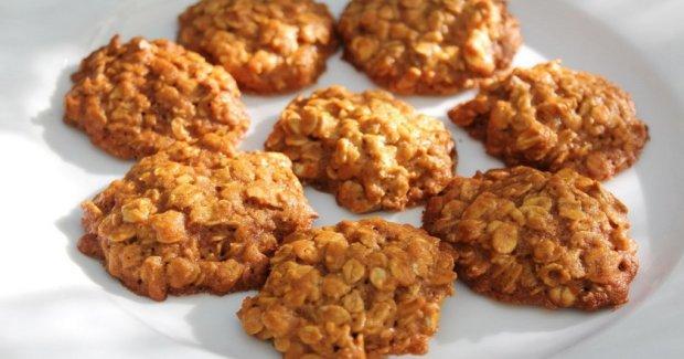 Постное овсяное печенье: простой пошаговый рецепт