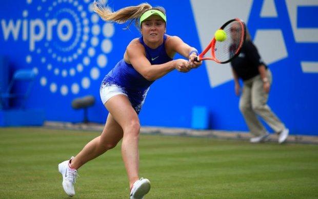 Найкраща українська тенісистка залишила турнір у Бірмінгемі