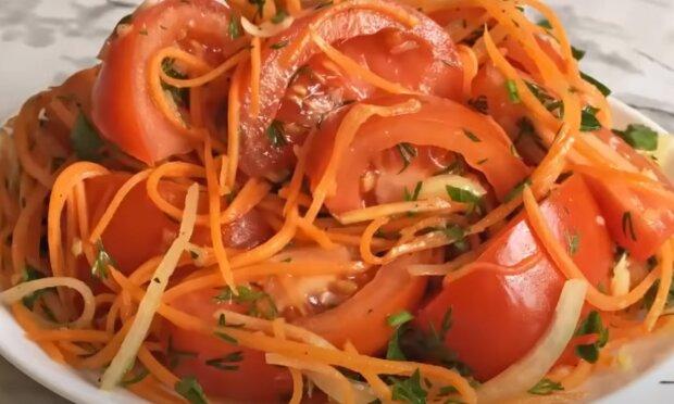 Пикантная закуска из помидоров и чеснока для гурманов - остренько, но вкусненько
