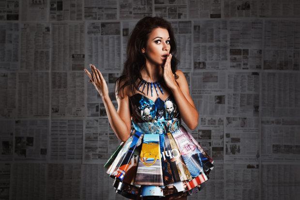 Искусство, которое поймет не каждый: креативный дизайнер превращает обычные предметы в невероятные платья. А вы бы надели?