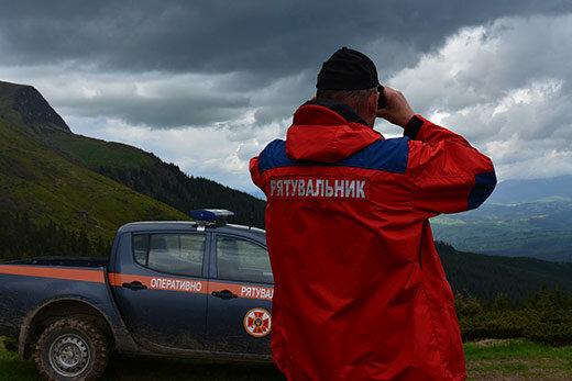 Первый пошел: в Карпатах заблудился турист из Львова