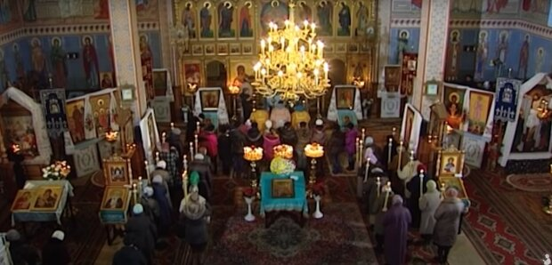 Введення у храм Пресвятої Богородиці 2020, скрін -  YouTube