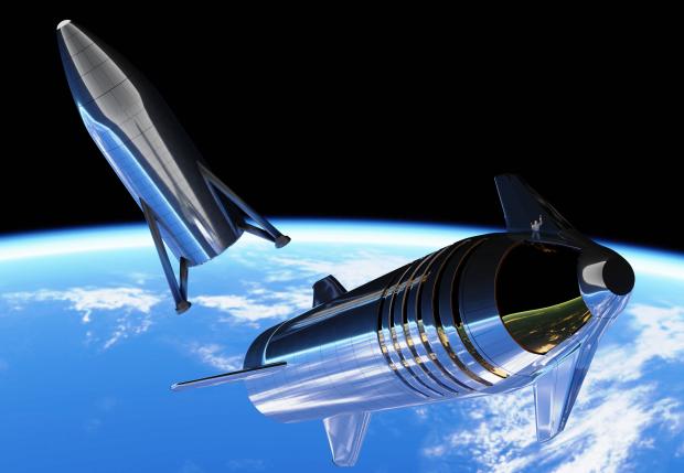 """Компания SpaceX запустила гигантский """"андроид"""" для колонизации Вселенной: эпичное видео"""