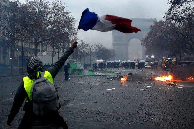 протести Франція