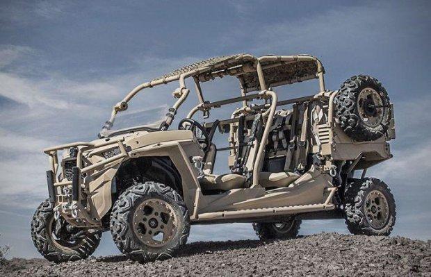 Американські піхотинці похвалилися новим озброєнням: броньований квадроцикл