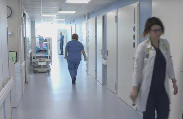 лікарня, скріншот з відео