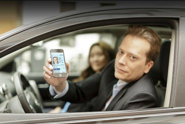 Електронні водійські права, фото: newsone