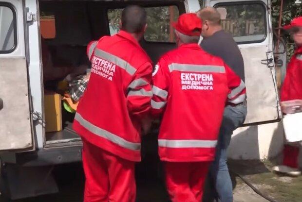 швидка допомога, скріншот з відео