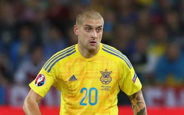 Ключовий гравець збірної України пропустить матч з Туреччиною