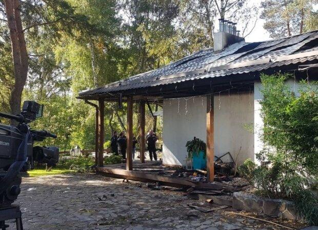 Поджог дома Валерии Гонтаревой: Пальчевский объяснил, кто может за этим стоять