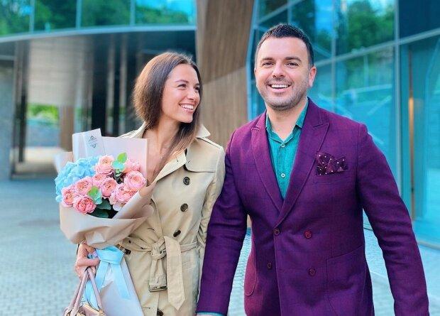 Григорий Решетник с женой, фото с Instagram