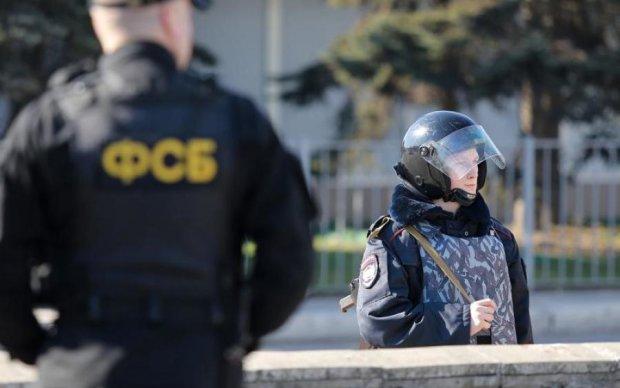 ФСБ повісила на затриманого українця цілий арсенал зброї