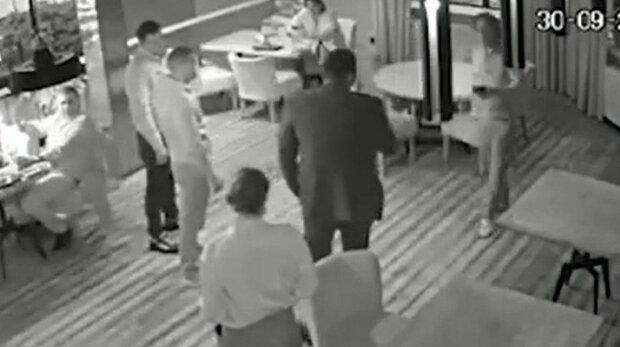напад на Саакашвілі, скріншот з відео