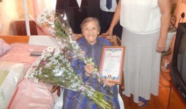 Одесситка отметила свое 100-летие (фото)