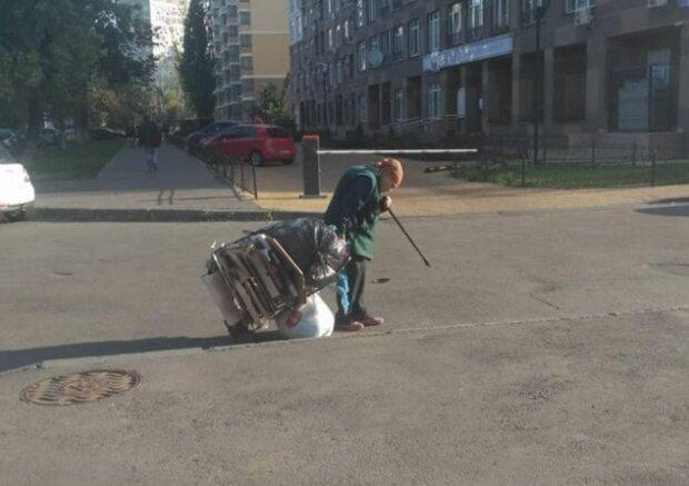 Пенсионерка, фото: Александр Мазур / Facebook