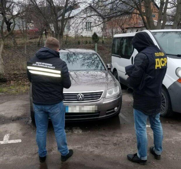 Задержание преступников на Львовщине, фото: Национальная полиция
