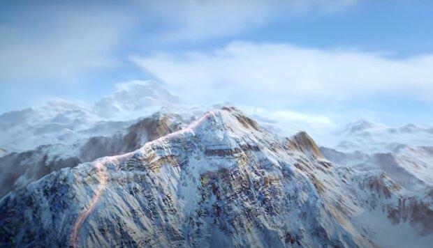 Эверест, кадр из видео, изображение иллюстративное: YouTube