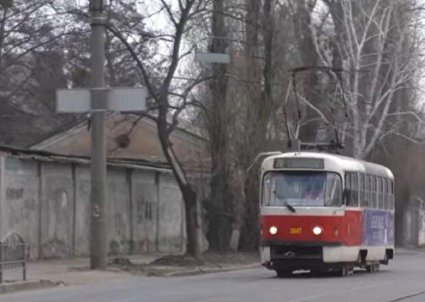 Тролейбус у Харкові, кадр з відео, зображення ілюстративне: YouTube