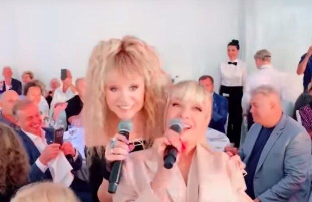 Пугачева и Вайкуле, скриншот YouTube
