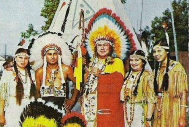 Украинец стал вождем индейского племени, фото: ukrainianpeople.us