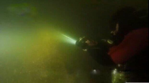 Дайверы, фото: скриншот из видео