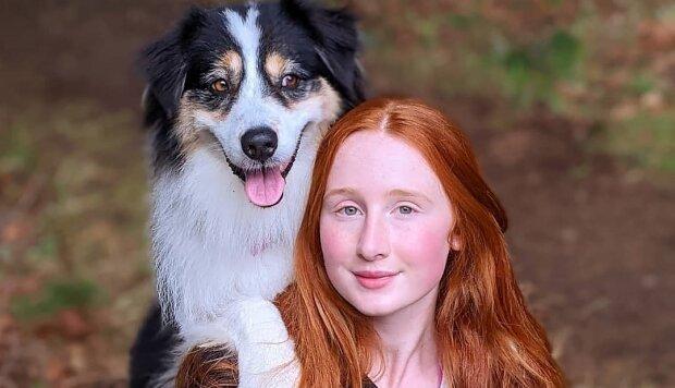 Собачка Сікрет з господинею, фото: Instagram