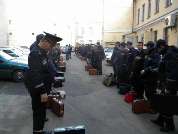 Українські рятувальники готуються до страйку