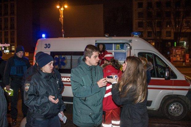 Избиение активистов в центре Киева: украинцы открыли охоту на озверевших копов