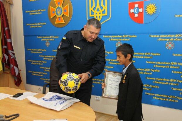 Руслан Шевчук голова ДСНС Вінниччини та Ярослав Макуха, фото Google
