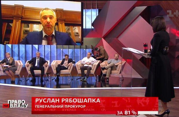 """Руслан Рябошапка в эфире """"Право на власть"""""""