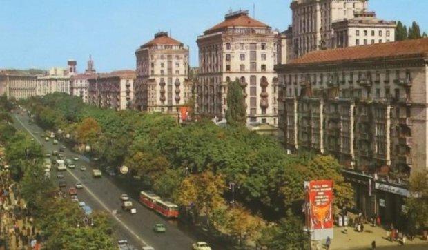 Как изменился Киев с 1984 года (видео)
