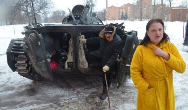 Бойовики влаштували спектакль для російських ЗМІ